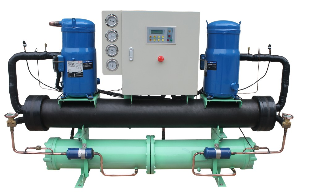 types of refrigeration compressors. double / single shell and tube scroll compressor open type refrigerant chiller types of refrigeration compressors
