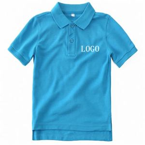 Unique Design USA Silver Stamp 240Gsm Golf T-Shirt 100% Cotton