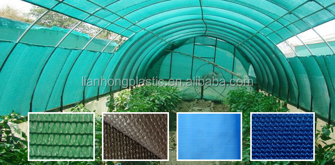 Bio degradable agricultural shade cloth roll greenhouse