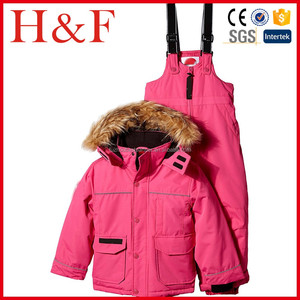 15d6e86ae5 Girls  Ski Jacket and Bib Pant Weather Gear Girls Ski suit