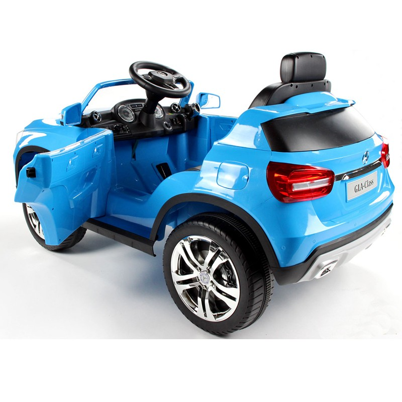 New licensed mercedes benz gla ride on toy car electric for Mercedes benz toy car ride on