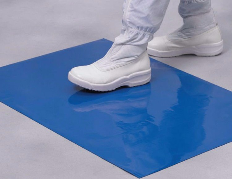 Tacky mats infection prevention
