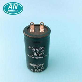 400 V 100 Uf Aluminium-elektrolytkondensator 4 Draht Fan Kondensator ...