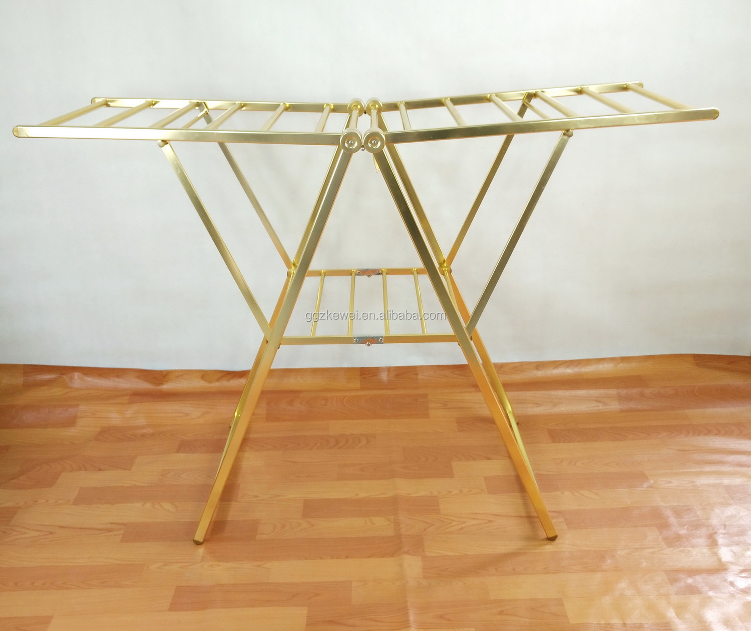 Aluminium Butterfly Folding Clothes Drying Rack, Butterfly Airer , King Size Laundry Hanger Stand AL-6019G