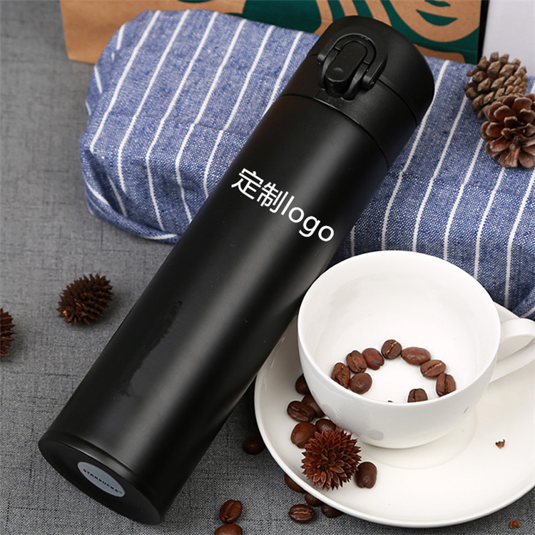 Customized outdoor double wall bottle insulated coffee tumbler