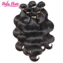 Befa Hair Body Wave Can Be Dyed 100% Virgin 18 Inches Peruvian Hair
