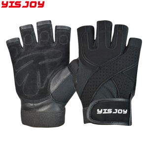 High quality personalised weight lifting winter gloves custom training lifting gloves factory