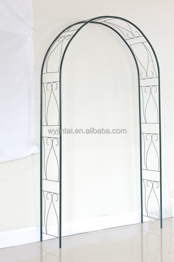 Metal Garden Arch Designs Garden Arch With Round Top Garden Flower
