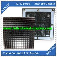 outdoor led video board p5 LED SMD RGB textile name tag