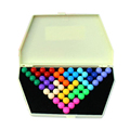 Parent child Interaction Pyramid Game Toy Kids Child Educational Developmental Logic Puzzle Wisdom Bead Game Toy