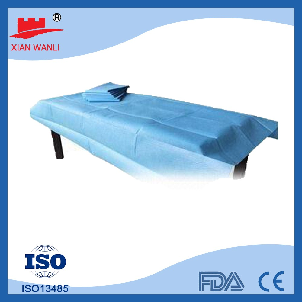 surgical bed sheet disposable bed cover spa bed cover salon and