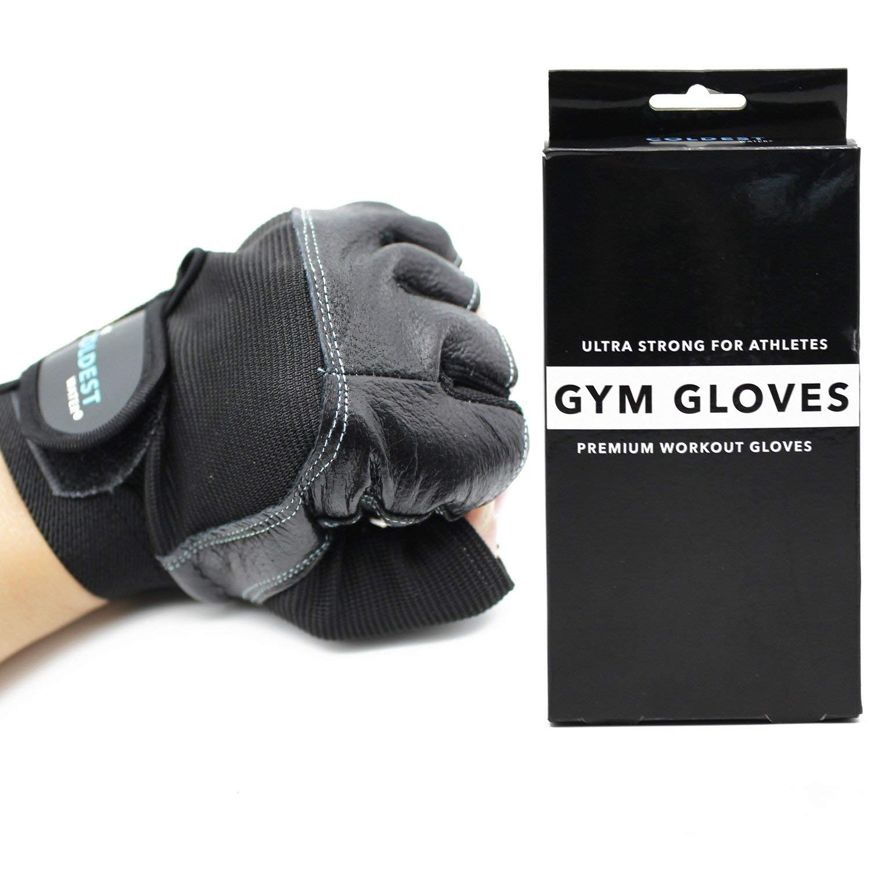Farabi Gym Gloves Fitness Training Bodybuilding Workout Weightlifting Gloves
