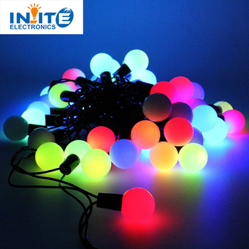 solar globe 50 led ball string lights solar powered christmas light for home garden lawn party
