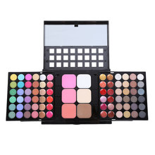 OEM 78 Color Eyeshadow Palette Set 48 Eye shadow + 24 Lip Gloss 6 Foundation <span class=keywords><strong>Mặt</strong></span> <span class=keywords><strong>Bột</strong></span>/Đỏ <span class=keywords><strong>Mặt</strong></span> Trang Điểm Kit <span class=keywords><strong>Mỹ</strong></span> <span class=keywords><strong>Phẩm</strong></span> Make UP