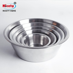 Wholesale personalized stainless steel dog water bowl/dog dish