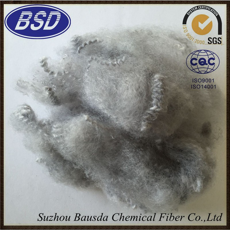 Recycled polyester staple fibre of Suzhou Bausda