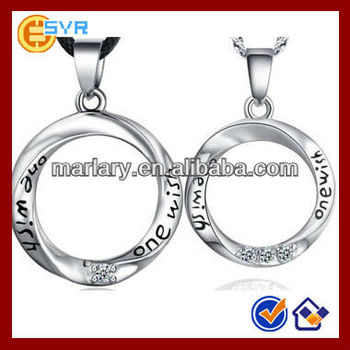 Love couple necklace circle pendant meaning buy lcouple necklac love couple necklace circle pendant meaning aloadofball Image collections