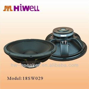 low cost cheap price deep excursion kevlar woofer