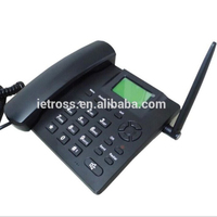 desktop gsm telephone /landline phone with sim card /gsm wireless home phone