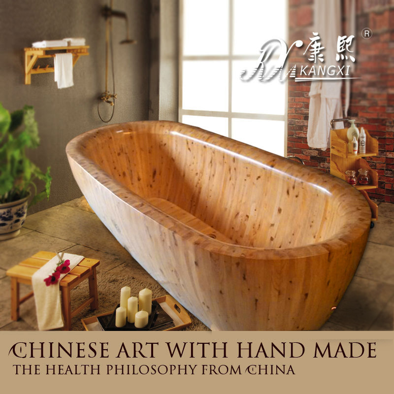 Indoor Adult Portable Freestanding Wooden Spa Bath - Buy Spa Bath ...