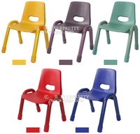 Durable Kindergarten Plastic Seat Colorful Children Game Chair