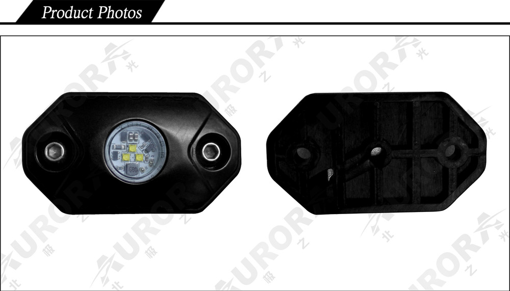 Small Size And Ip68 Waterproof Aurora Rock Lights Led Rock Light ...