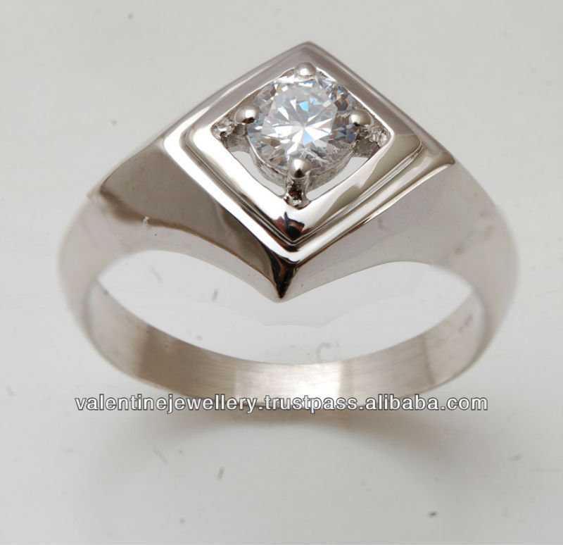 925 Silver Mens Jewelry,Gents Silver Ring Design For Sale ...