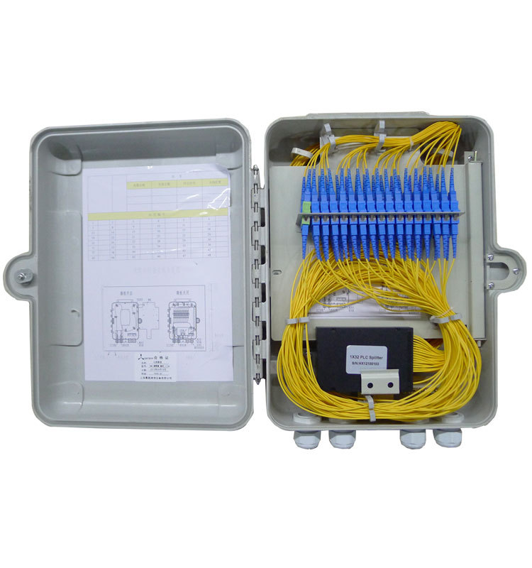 4 Ports Fiber Termination Box Optical Fiber Cable Cables