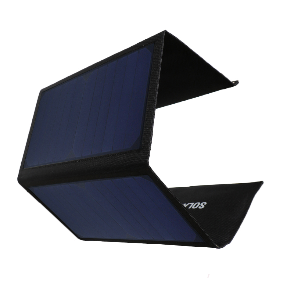 Foldable Portable 20W Dual USB Solar Power Panel