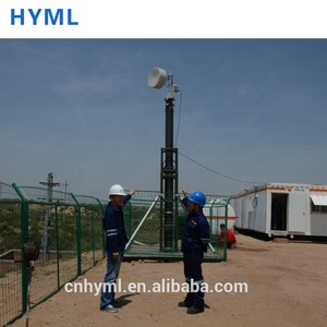 Antenna Telescopic Mast Pole For Mobile Communication In The Field