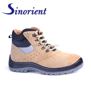 Cheap price shandong gaomi best serve safety shoes groundwork safety boots steel toe RS009A