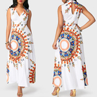 White Dresses Casual Dresses Fashion Plus Size Long Maxi White Women Casual African Dresses