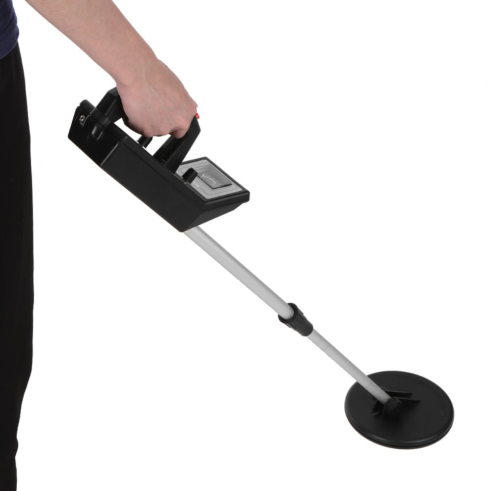 KKmoon Metal Detector, Metal Detector Lightweight Ground Nugget Hunter Gold Digger Silver Treasure Seeker Finder
