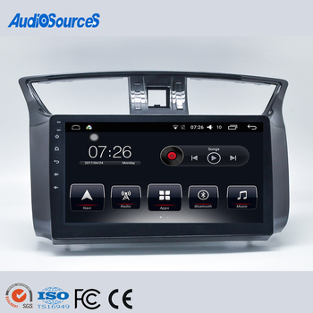 Best Sale Double Din Car DVD Radio Navigation for Nissan Car DVD Player with Android 6.0 System