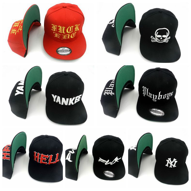 Different Styles Of Hats: 7 Different Styles SSUR Snapback Hats YANKEE HELL Brand