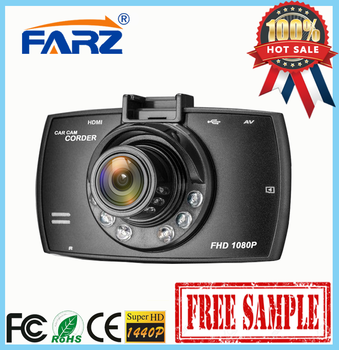 1080P 2.7-inch Dash Cam DVR HD night vision driving recorder