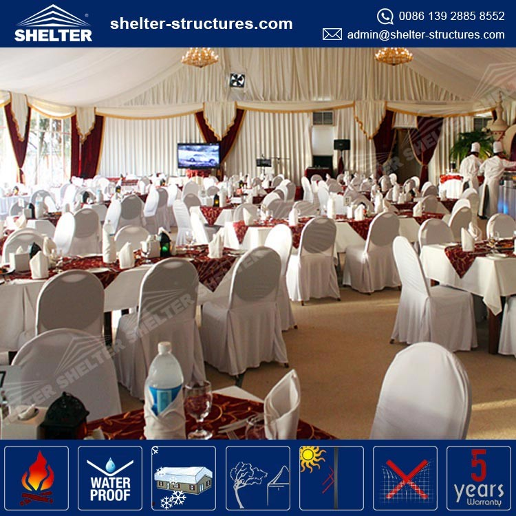 Hot Sell Outdoor Luxury Wedding Tents For Sale, decoration mariage tent
