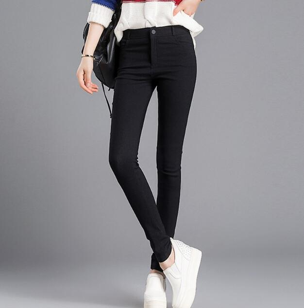 zm33042a women fashion thin pencil pant casual female long trousers