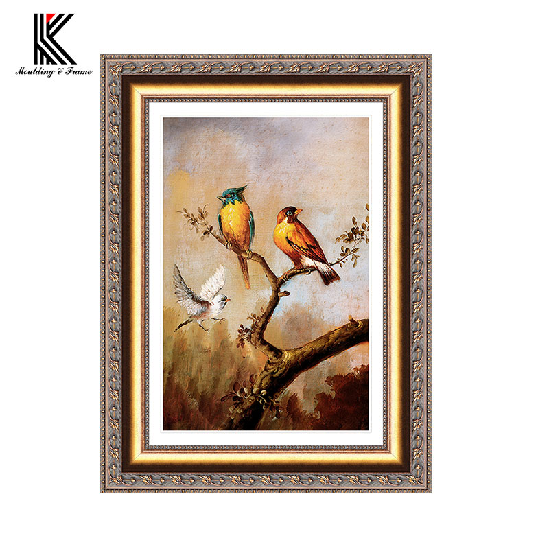 Wide Cardboard Oil Painting Frames For Wholesale