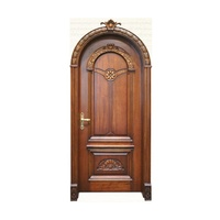 arched solid wooden door veneer door