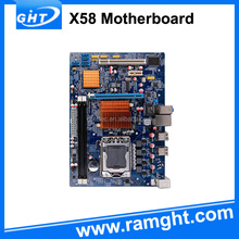 Support components dual socket x58 1366 desktop motherboard