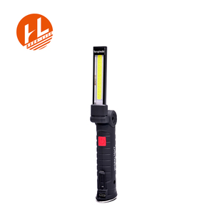 Portable Rechargeable COB Led Work Light, Inspection Light Torch with Magnetic Base for Automobile Repairing Working