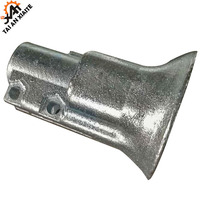 Customized Lost Wax Prevision Casting Bell mouth for construction machinery parts