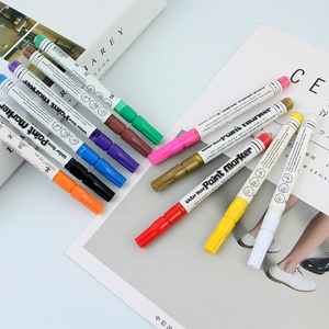 Stand Acrylic Storage Marker Pen Set