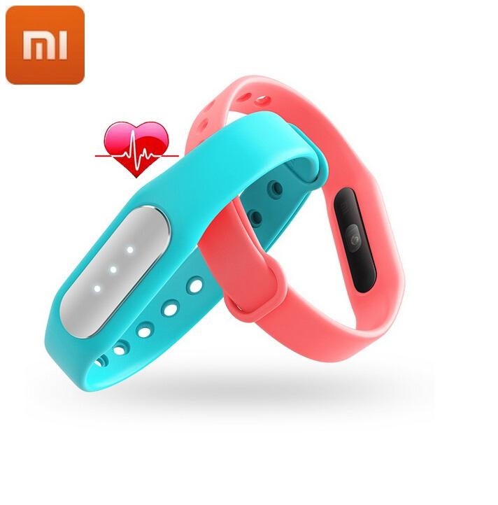 100% Original Xiaomi Mi Band 1A Mi Band 1S Smart Bracelet Heart Rate Monitor