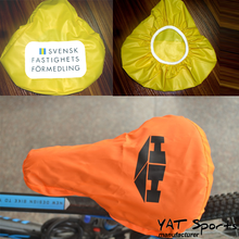 Good For Promotion custom Design printing bike seat Cover Waterproof Pvc Bicycle Seat Cover