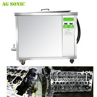 AG SONIC large tank engine parts ultrasonic cleaning machine with durable heating tube