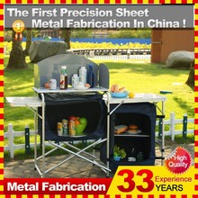 Portable Foldable Camping Kitchen Table for camping gear