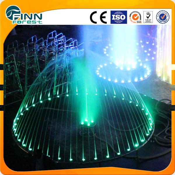 5m luz LED decorativa al aire libre fuentes de agua círculo bailando ...