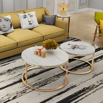 Nordic Marble Tea Table Simple Modern Round Living Room Small Simple Iron  Edge Table - Buy Nordic Marble Tea Table,Simple Modern Round Living Room ...